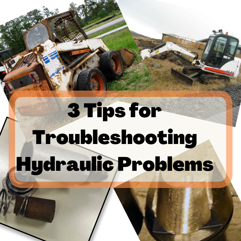 3 Tips for Troubleshooting Hydraulic Problems on Compact Equipment