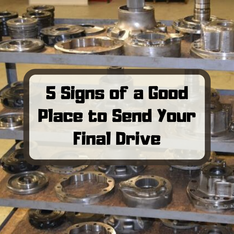 5 Signs of a Good Place to Send Your Final Drive
