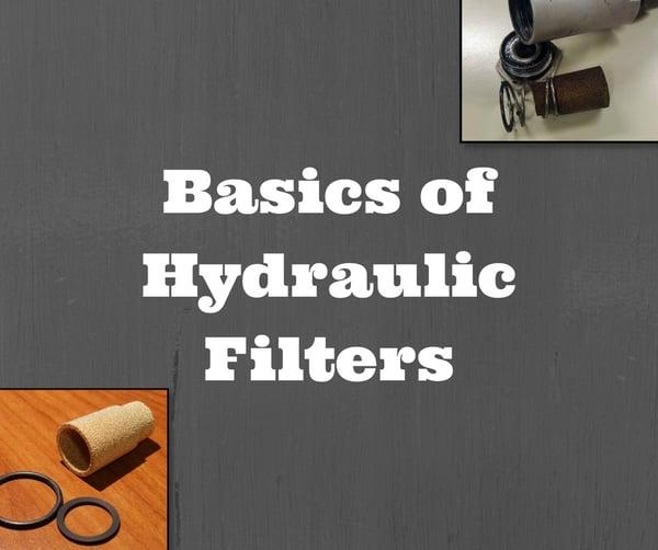 Basics of Hydraulic Filters (1)