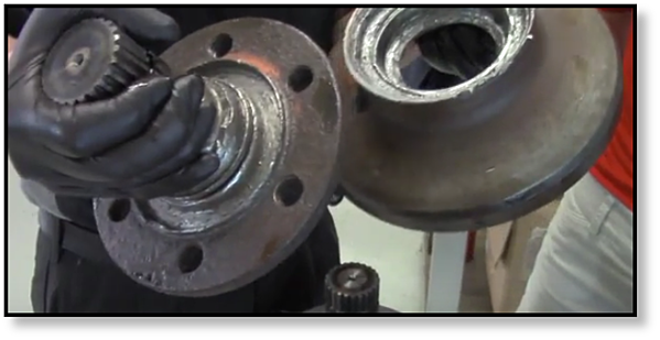 Signs of Bearing Failure in a Final Drive