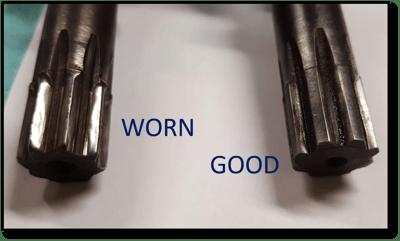 hy-dash-final-drive-main-shaft-worn