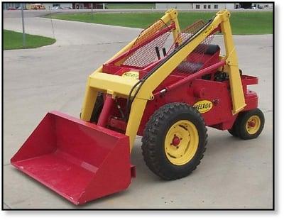 melroe-3-wheel-skid-steer-bobcat-keller
