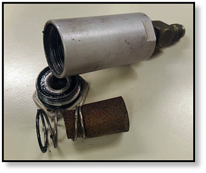 used-case-drain-filter-final-drive-hydraulic-motor-drive-motor-track-drive