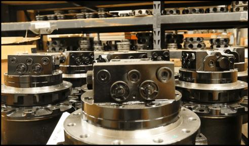 hydraulic final drive motors