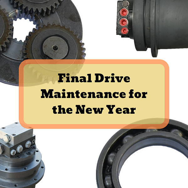 Final Drive Maintenance for the New Year