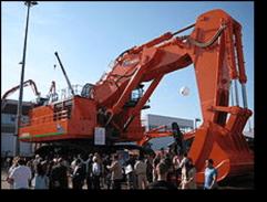 Hitachi EX5500 excavator