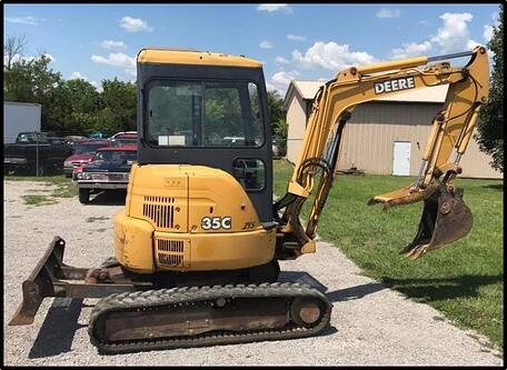 John Deere 35C and 35D Mini-Excavators