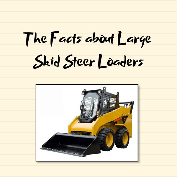 Large Skid Steer Loaders