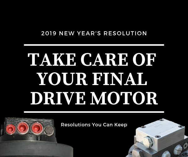 New Year's Resolutions for Your Final Drive Motors