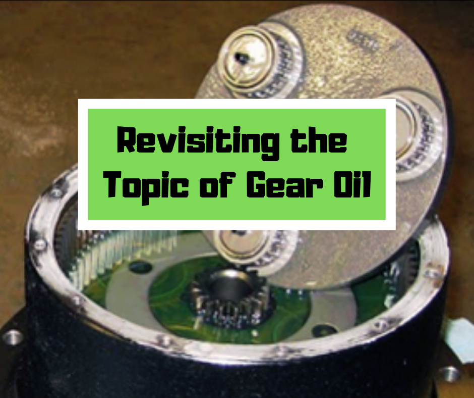 Revisiting the Topic of Gear Oil