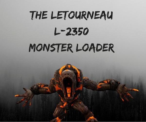 The LeTourneau L-2350 Monster Loader