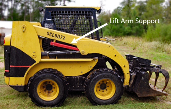 Skid Steer Safety and Lift Arm Supports