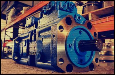 filtered hydraulic pump