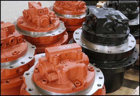 Various final drive motors