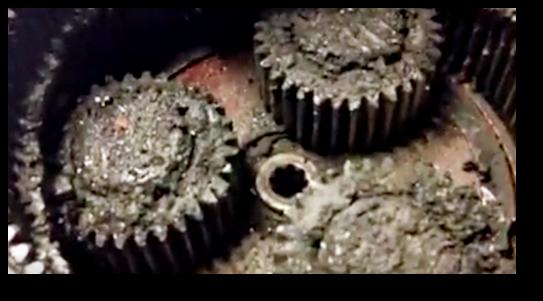 Sludge in the gear oil is something we hate seeing!