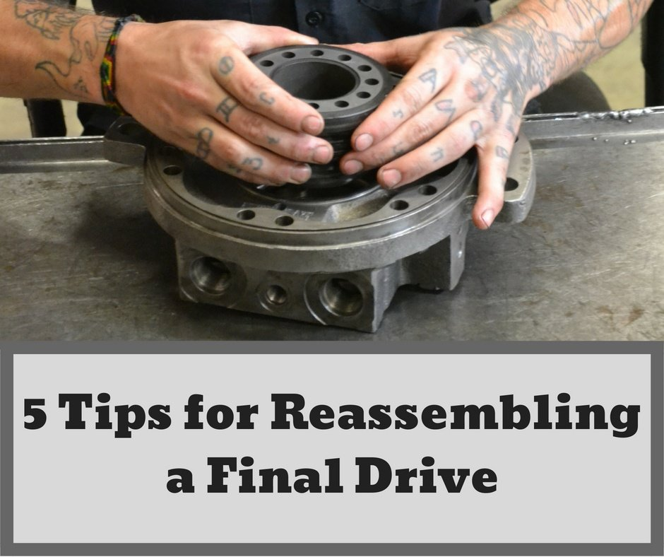 5 Tips for Reassembling a Final Drive