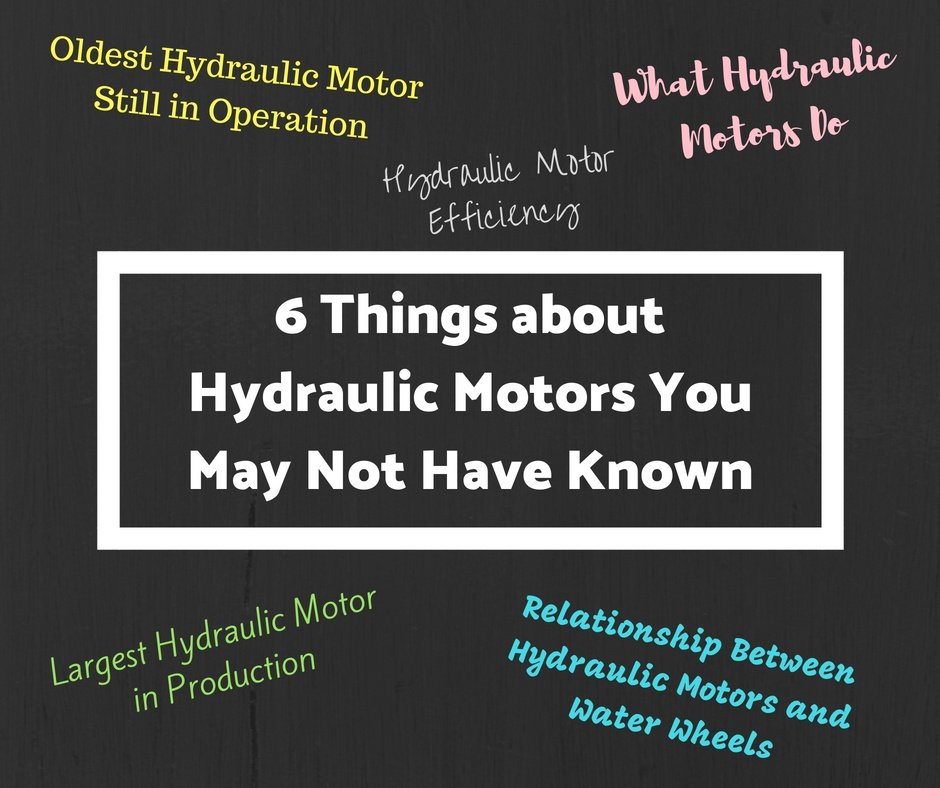 6 Things about Hydraulic Motors You May Not Have Known