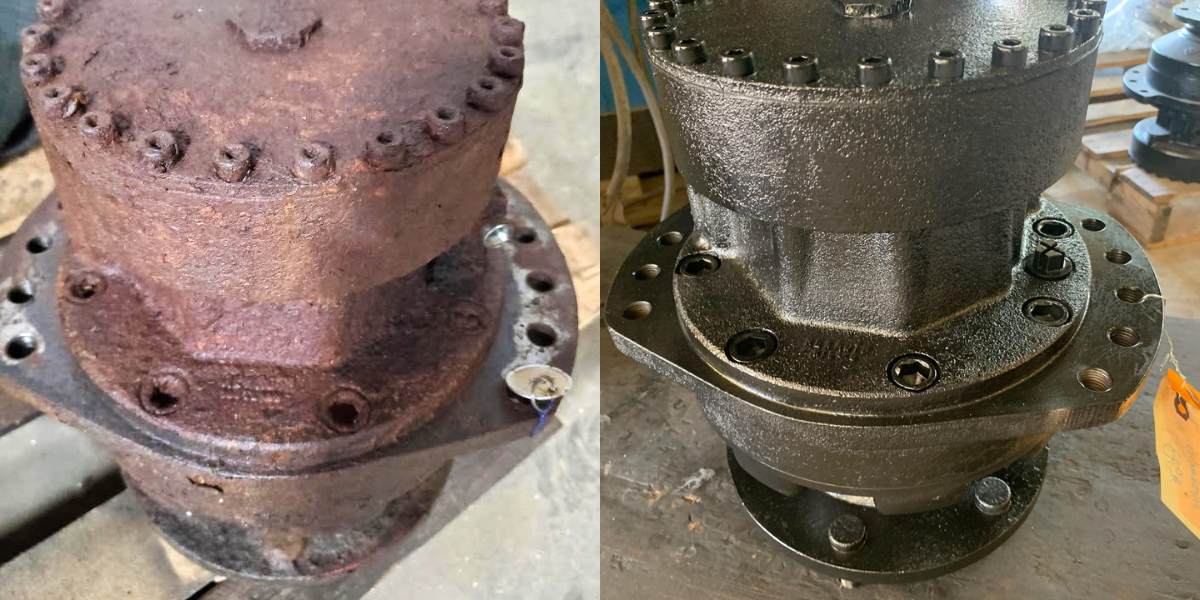 Before-and-after-jcb-rebuild-190t-final-drive