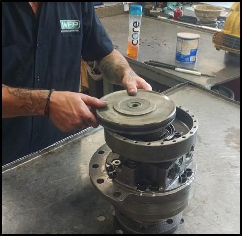 final-drive-brake-piston-installation-clean-workbench