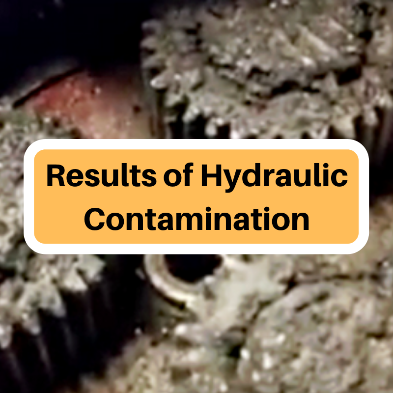 Results of Hydraulic Contamination