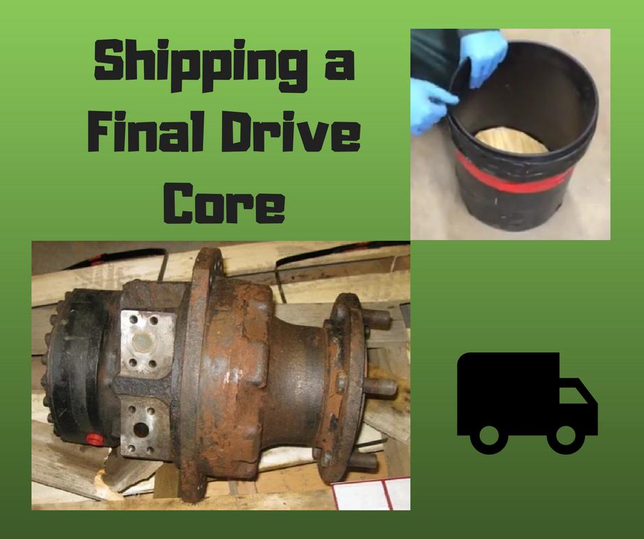 Shipping a Final Drive