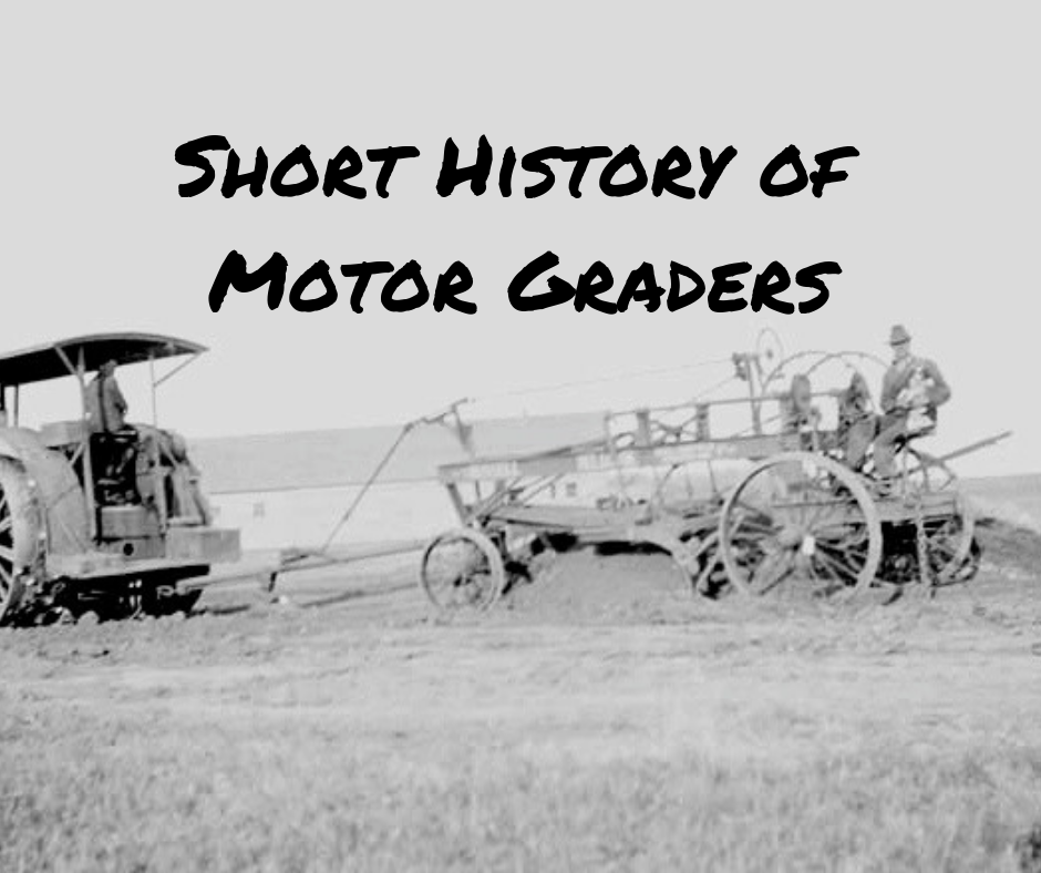 Short History of Motor Graders