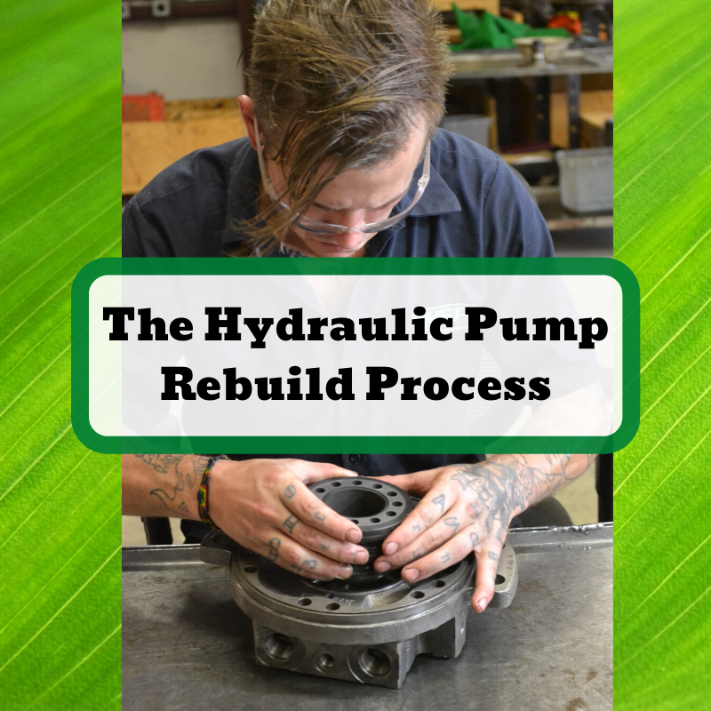 The Hydraulic Pump Rebuild Process