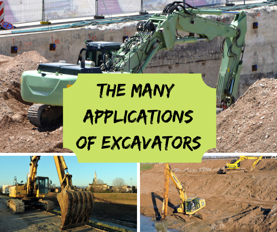 The Many Applications of Excavators (1)