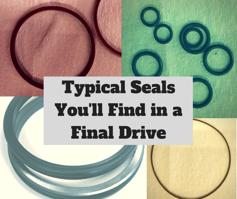 Typical Seals You'll Find in a Final Drive