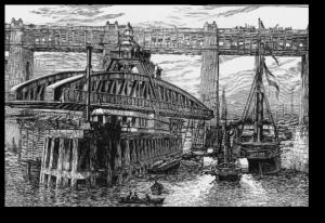 first-hydraulic-motor-swing-bridge-river-tyne-1870s-300x206